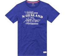 T-Shirt Baumwolle kobaltblau