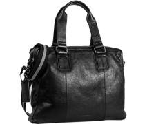 Herren Tasche  Business Bag Rindleder schwarz