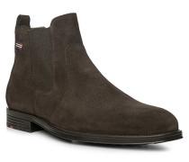 Schuhe PATRON, Kalbveloursleder, dunkelbraun