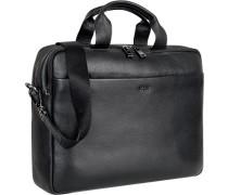 Tasche Aktenkoffer, Leder,