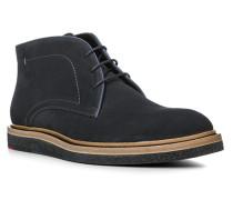 Schuhe JANUS, Kalbveloursleder, dunkelblau