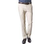 Hose Slim Fit Baumwolle