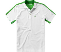 Polo-Shirt Polo, Coolmax®, weiß-