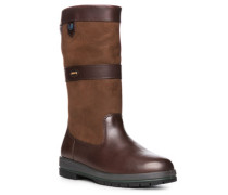 Schuhe Boot, Glatt-Veloursleder GORE-TEX®, dunkelbraun
