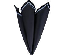 Accessoires Einstecktuch, Seide, nachtblau