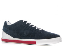 Herren Schuhe Sneaker 'Nizza 5' Veloursleder navy blau