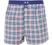 Unterwäsche Boxer-Shorts, Baumwolle, -navy kariert