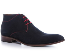 Schuhe Desert Boots, Veloursleder, dunkelblau