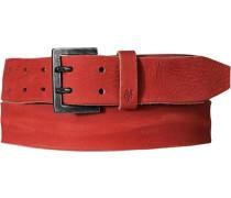 Herren Gürtel rot Breite ca. 4 cm