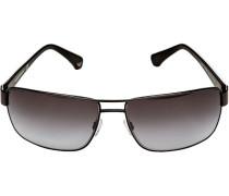 Brillen Sonnenbrille, Metall-Kunststoff,