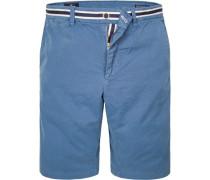 Bermudashorts Baumwolle jeansblau
