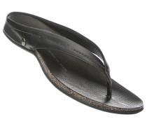 Herren Schuhe Zehensandalen Nappaleder schwarz schwarz,schwarz