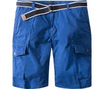 Hose Short Baumwolle ozeanblau
