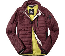 Steppjacke Microfaser Thermore® bordeaux ,gelb