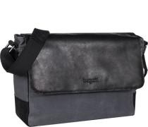 Tasche Messenger Bag, Canvas-Leder