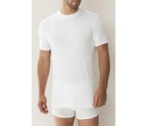 T-Shirt Micro-Modal schwarz, grau, dunkelblau oder weiß