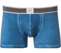 Unterwäsche Trunk Baumwoll-Stretch meliert