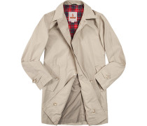 Mantel Trenchcoat Baumwolle COOLMAX® sand
