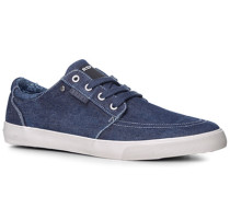 Schuhe Sneaker Textil denim