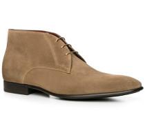 Schuhe Desert-Boots Veloursleder fango