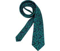 Herren Krawatte  blau,grün