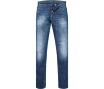 Jeans, Slim Fit, Baumwoll-Stretch