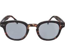 Brillen Korrekturbrille mit UV Schutz, Kunststoff, gemustert