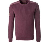 Pullover Pulli, Baumwolle, violett