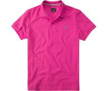 Polo-Shirt Polo Regular Fit Baumwoll-Piqué pink