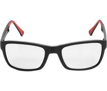 Herren Brillen  Klappsonnenbrille Kunststoff schwarz