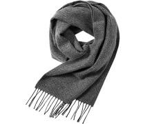 Schal Wolle gemustert