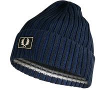 Mütze Baumwolle navy