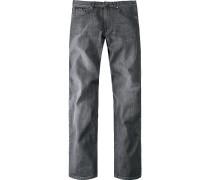 Herren CERRUTI Jeans-Hose anthrazit grau