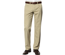 Herren Jeans Contemporary Fit Baumwoll-Stretch sand beige