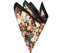Accessoires Einstecktuch Seide multicolor gemustert
