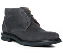 Schuhe Desert-Boots Veloursleder nachtblau