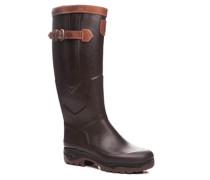 Schuhe Wellington Naturkautschuk dunkelbraun