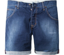 Jeans-Shorts The Einstein Relaxed Short Baumwolle 8 oz denim