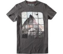 T-Shirt Baumwolle anthrazit