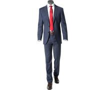 Anzug, Modern Fit, Schurwolle Super120