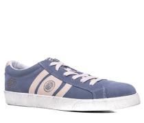 Schuhe Sneaker Veloursleder hellblau