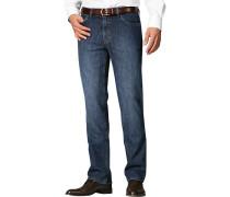 Jeans Kid Contemporary Fit Baumwoll-Stretch dunkelblau