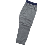 Schlafanzug Pyjamahose, Baumwolle, meliert