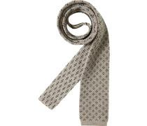 Herren Krawatte  beige