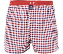 Unterwäsche Boxer-Shorts, Baumwolle, rot- kariert