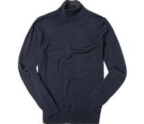 Pullover Pulli Wolle dunkelblau