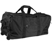 Herren Tasche BOGNER Reisetasche mit Rollen Microfaser schwarz