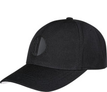 Herren   Cap Woll-Mix schwarz