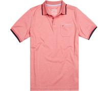 Polo-Shirt Polo Baumwolle meliert