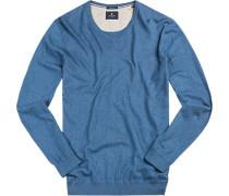 Pullover Seide-Baumwolle meliert